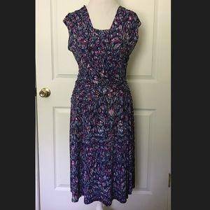 Pretty Dressbarn Multi Colored Dress